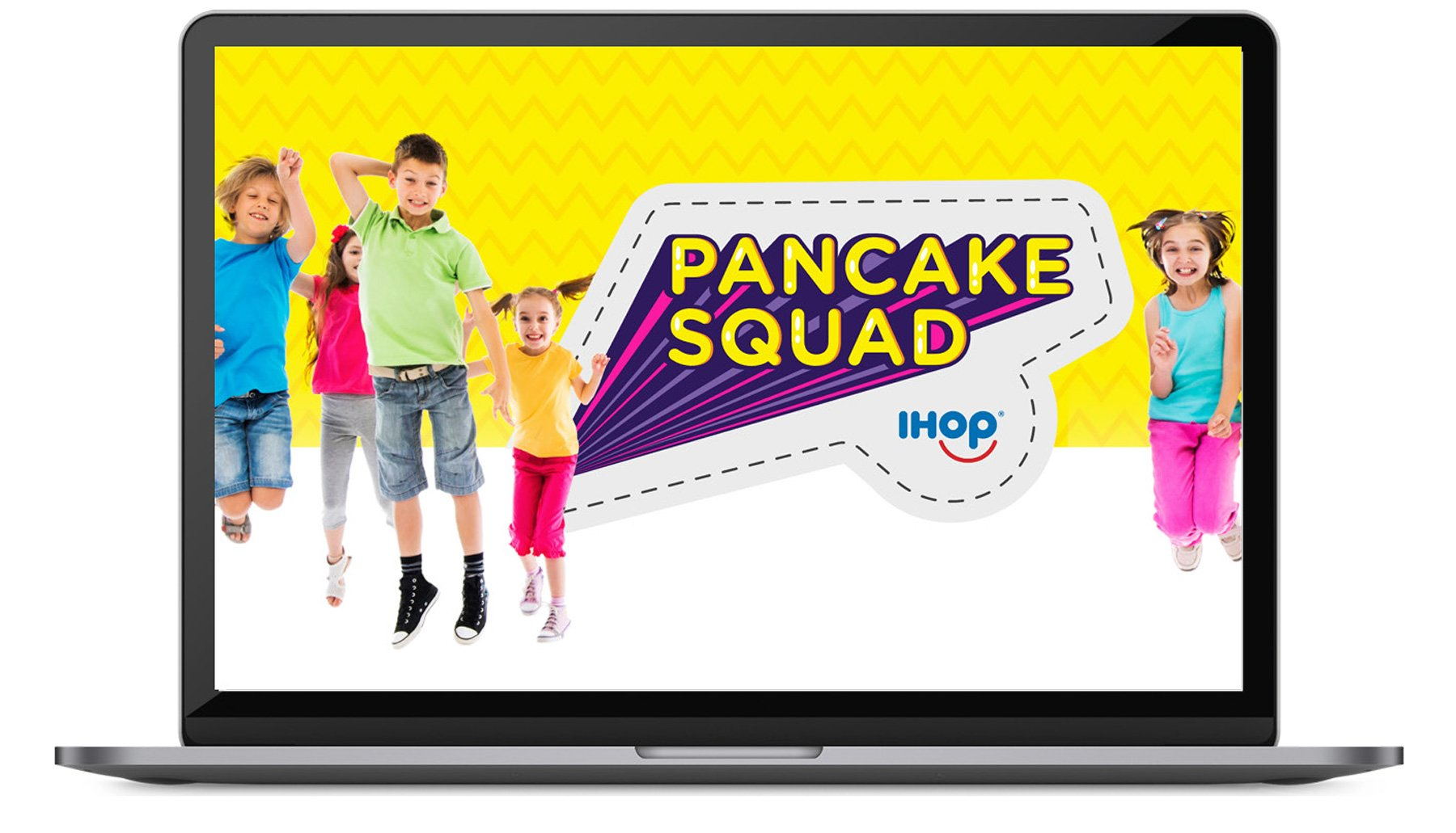 IHOP Pancake Squad Kids Program Family Custom Photography Lifestyle Food Photography Food stylist technology app development Augmented Reality Games