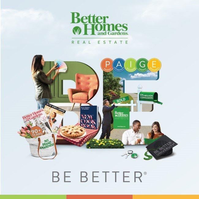 Better Homes and Gardens Real Estate Be Better Digital Social Media Marketing