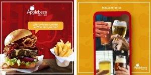 Applebee's International Restaurant Digital Content Social Media Post Translation