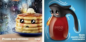 IHOP International Restaurant Digital Content Social Media Post Translation