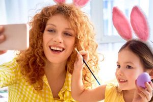 Better Homes and Gardens Real Estate Covid Easter Content Generation at home
