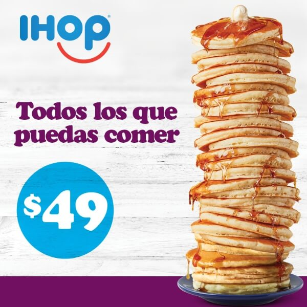 IHOP All You Can Eat Pancakes Campaign Social Media Post Content Generation