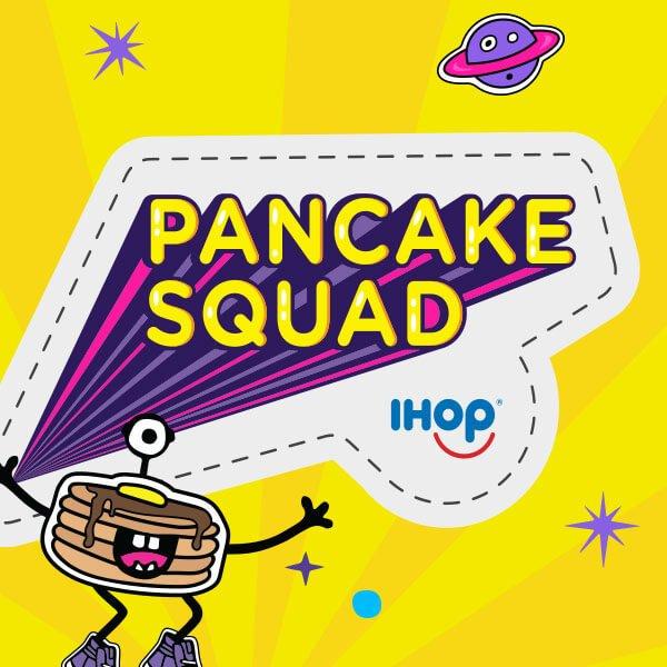 IHOP Pancake Squad Logo Branding Brand Strategy Campaign