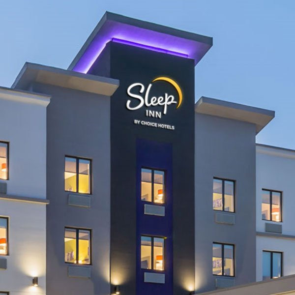 Choice Hotels Sleep Inn Hotels Branding Positioning Traditional Hotel Exterior